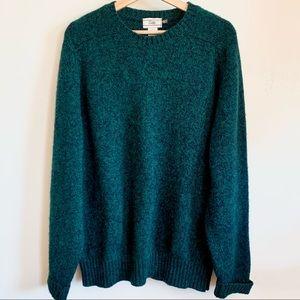 Vintage GAP 100% Shetland Wool Grandpa Sweater XL